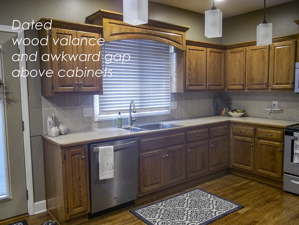 Update Dated Oak Cabinets