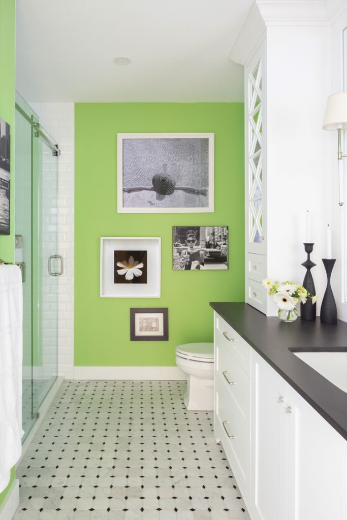 Bathroom Design | White Bathroom | Bathroom Cabinets | Decorating with Colour | Classic and Timeless | Black and White Bathroom