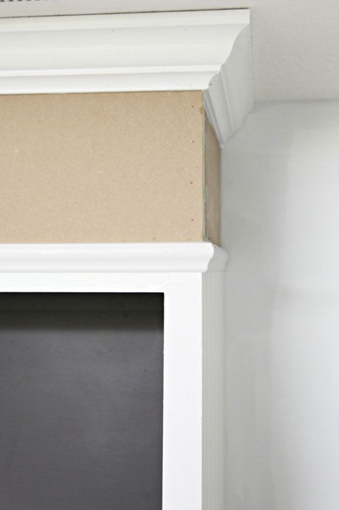 Close the Gap Above Kitchen Cabinets