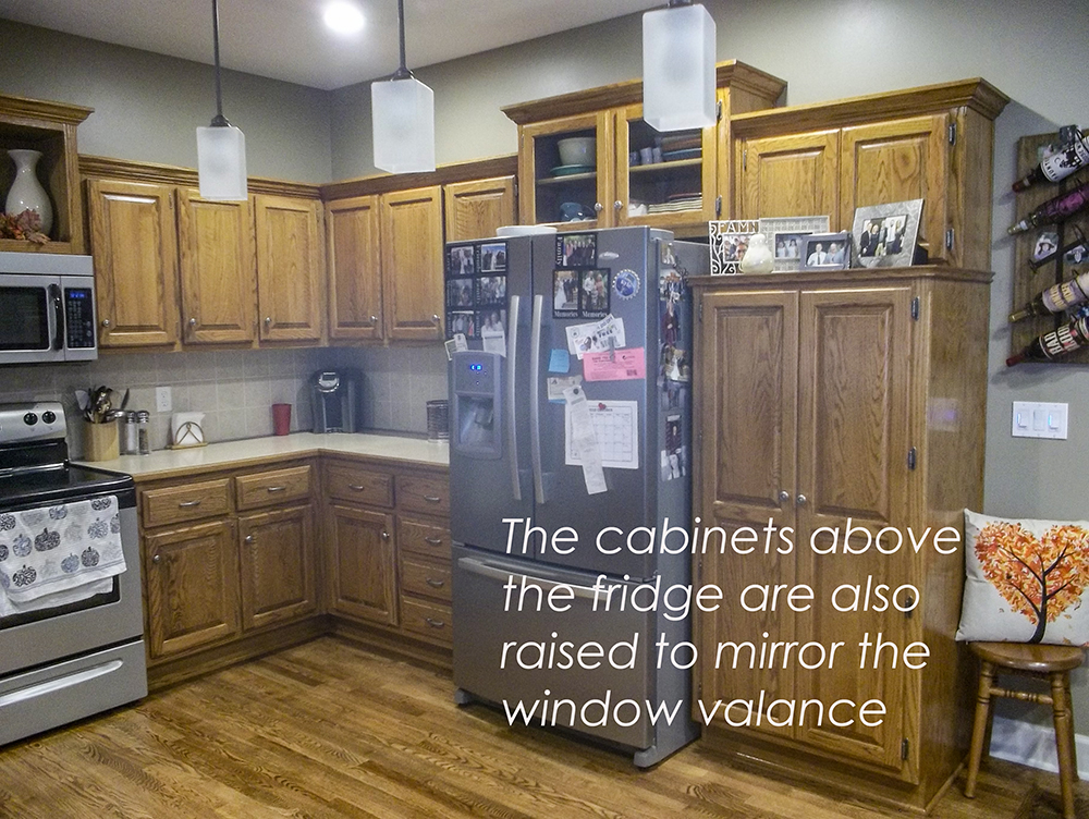 My Designer Secret For Updating Old Kitchen Cabinets Maria Killam