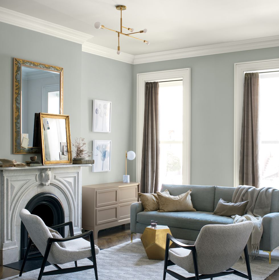 Paint Colours For Living Room Gray