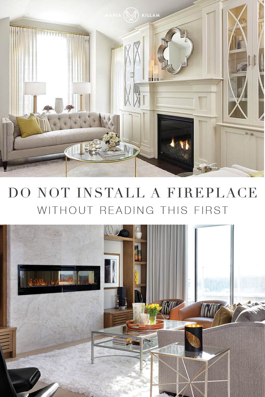 Read this before you choose a fireplace