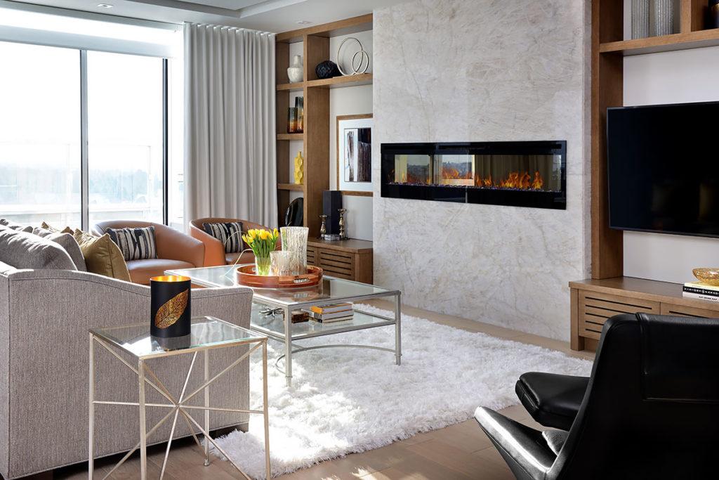modern fireplace style