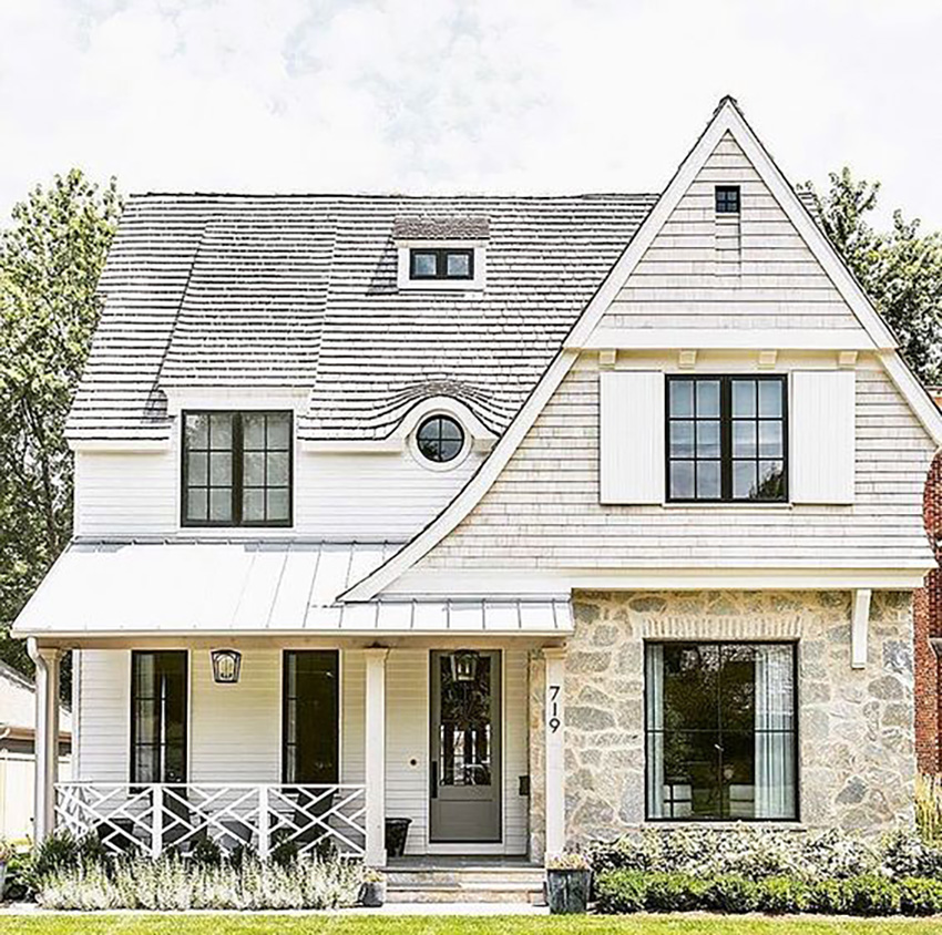 Which Colour Siding Works Best With Stone Before Amp After
