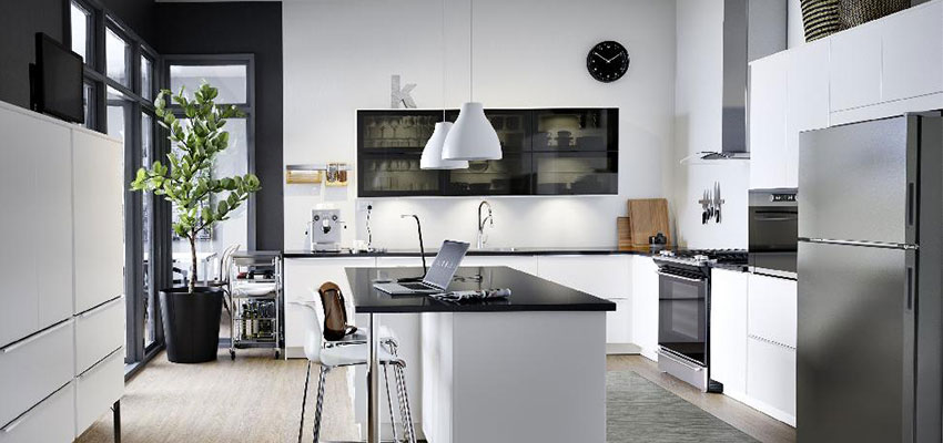 What Ikea Knows About The Black Kitchen Trend That You Don T Maria Killam