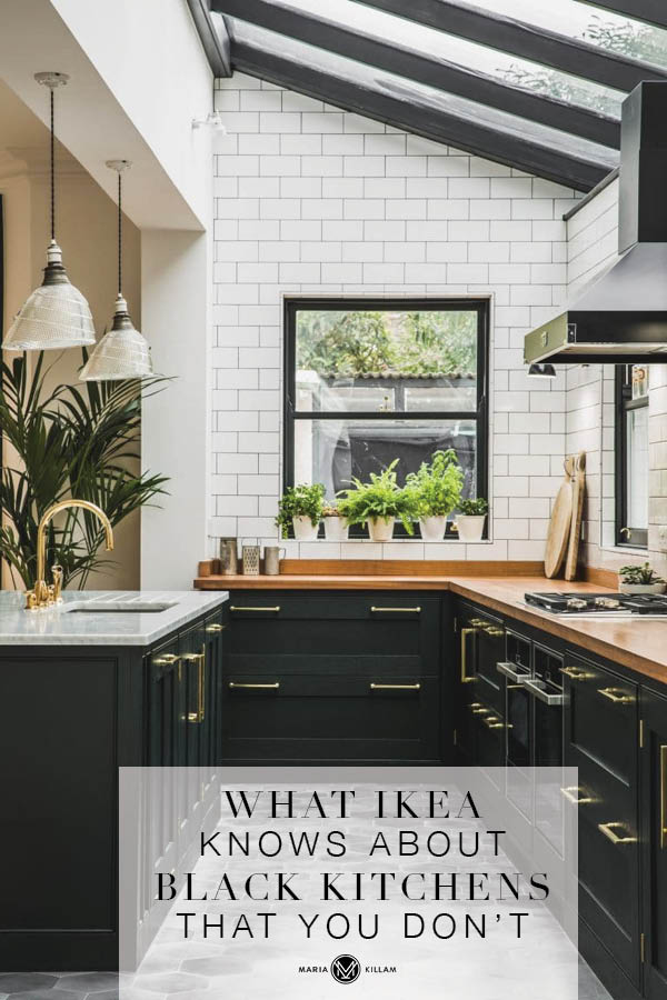 What IKEA knows about the Black Kitchen Trend That You Don\'t
