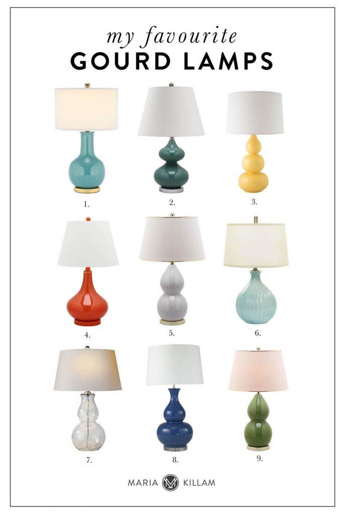 Favorite Gourd Lamps