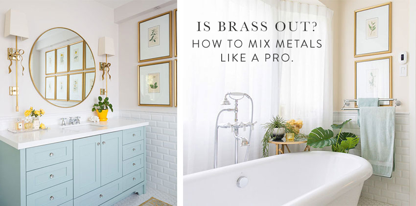 Is Brass Out How To Mix Metals Like A Pro Colour Trends