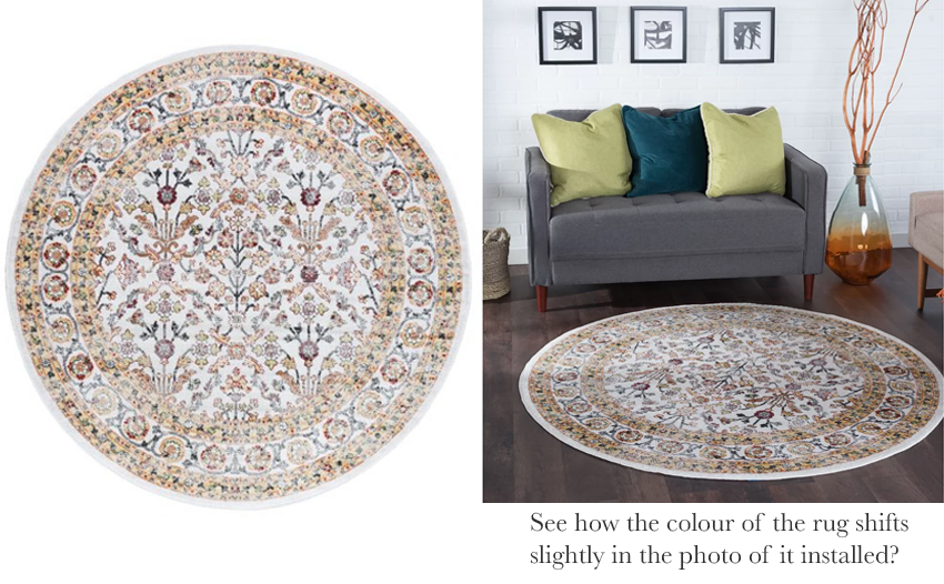 how to shop for area rug online