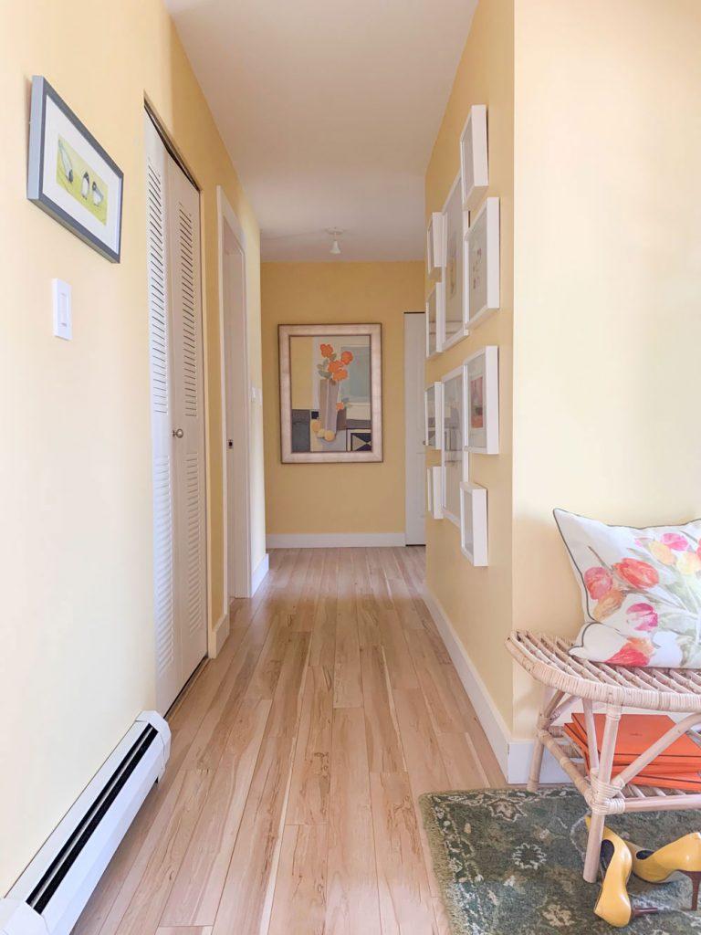 Natural Pale Hardwood Floors